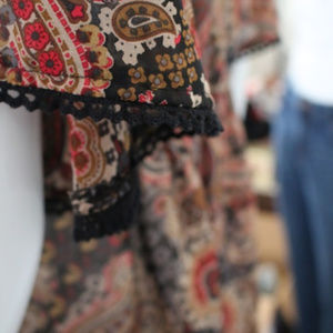 As U Wish Dresses - Flirty Paisley Dress